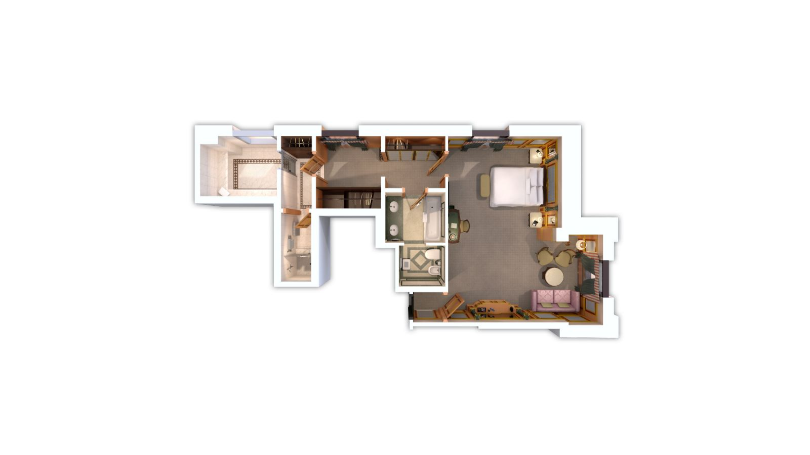 Floor plan La Suite Executive