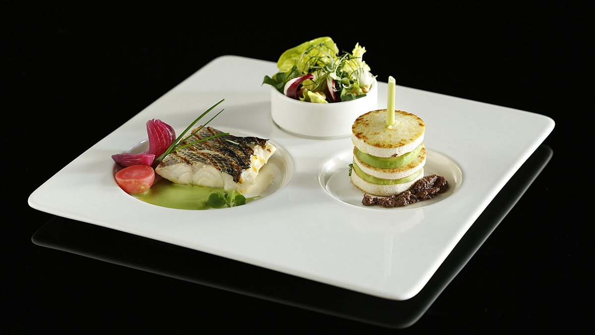 Lets Lunch Lets Combo plate Panevo Restaurant The Westin Palace Milan
