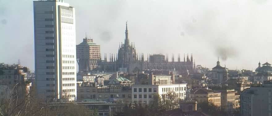 A favourite view from The Westin Palace, Milan